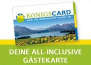 KönigsCard – Deine All-Inclusive Gästekarte in den Regionen Allgäu, Tirol, Ammergauer Alpen und Blaues Land